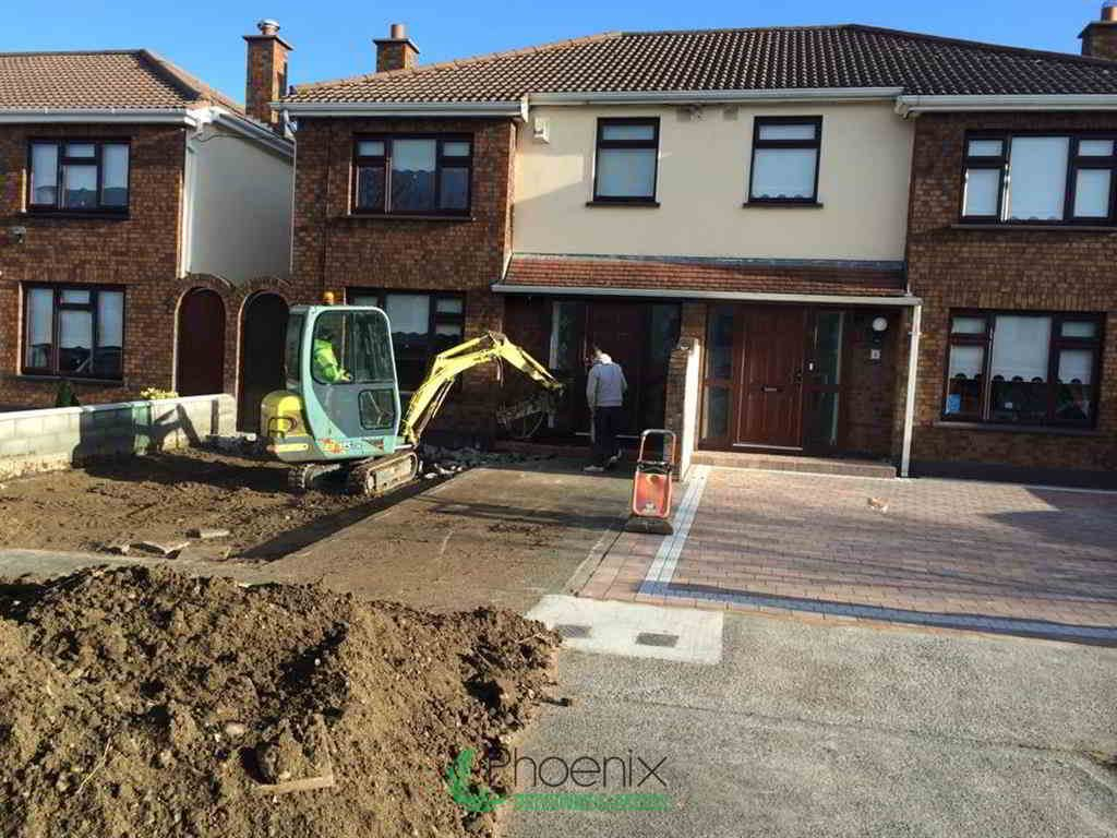 Before Driveway Extension