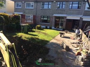 Driveway preparation for block paving