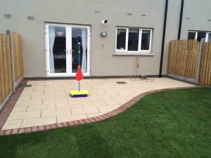 Completed Patio Installation Dublin