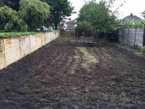 Before Lawn Installation