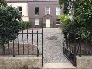 Gravel driveway installation in Dublin