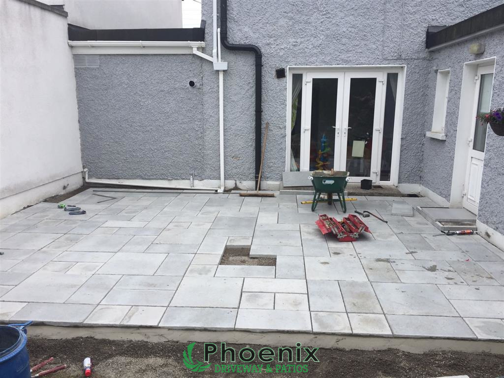 Navan Road Dublin Patio
