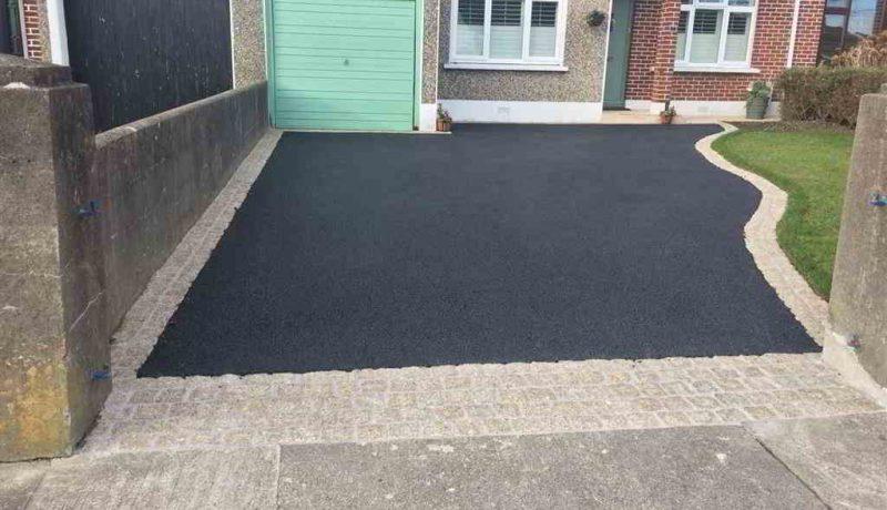 Tarmac driveway installation in Dublin