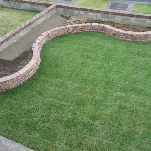 Walling, Lawns Dublin