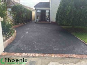 Finished tarmac installation in Dublin