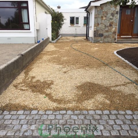 Gravel Driveways in Howth, Co. Dublin