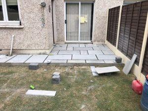 Grey Stone Patio in Rathgar, Dublin