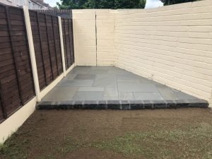 Grey Stone Patio in Rathgar, Dublin